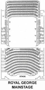 Royal George Seating Chart Theatre Seating The Royal George Theatre