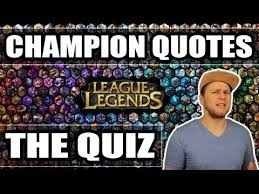 Lol Champion Quotes Quiz German Sprüche Challenge Zitate S5 2015