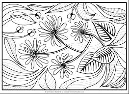 Printable Coloring Book Pages Flowers Free Printable Flower Coloring