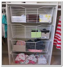 wire storage baskets for shelves astound excellent in closets home design ideas decorating 31