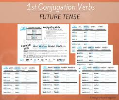 Latin Verb Conjugations Present Stem Worksheets - Family Style ...