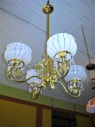 victorian 4 light chandelier from a new orleans estate for antiques com classifieds
