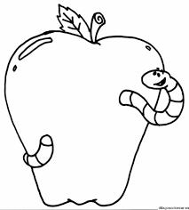 Manzanas Para Colorear Manzana Dibujo Para Colorear Meetmelindadoolittle
