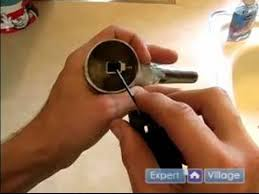 How to Fix a Faucet How to Tighten a Kitchen Sink Handle