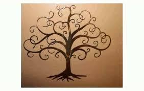 Gorgeous Metal Wall Art Trees Willow Deco Metal Decor Tree Metal