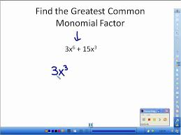 Factoring By Greatest Common Factor Worksheet Worksheets for all ...