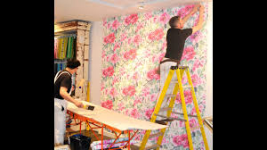 how to wallpaper your wall with designers guild