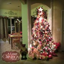 Kitchen Christmas Tree A Lauer Christmas Home Tour Cardinals Candy Canes Burlap