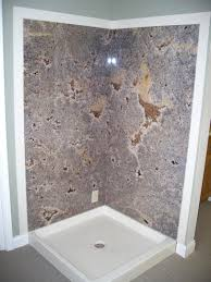 faux granite shower wall panels