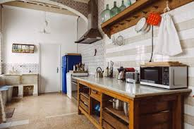 kitchens with wall mounted dish racks