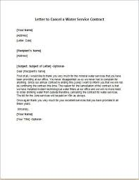 contract letter letter to cancel service contract 10 service termination letter