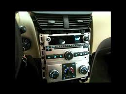 how to 2008 2012 chevy bu factory radio removal