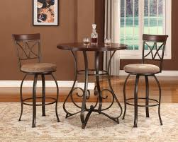 pub style dining table set bar and pub table sets cherry chair small bar top table round bistro table set