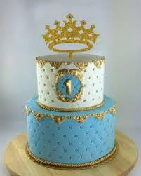 Prince Crown Cake Topper Boy Birthday King First Birthday Its A