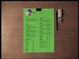 Best One Page Modern Resume Best Free Resume Templates In Psd And Ai In 2018 Colorlib