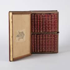 1801-1803  Portable traveling bookcase.