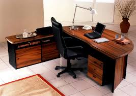 image of modern office desk style