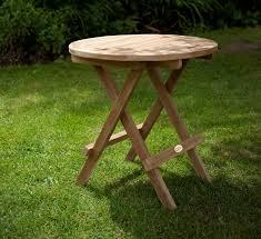 round folding coffee table