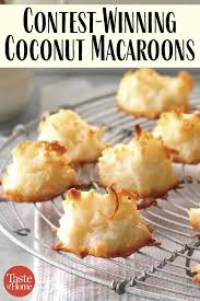 First-Place Coconut Macaroons | Recipe | Coconut recipes, Coconut macaroons  recipe, Macaroon recipes