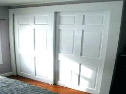 bypass sliding door floor track closet doors for closets 3 pass hardware throughout