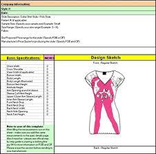 product spec sheet template spec sheet 1 jpg