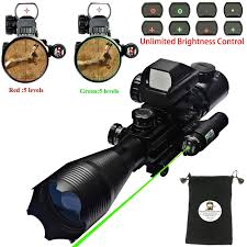Bsa Red Dot Laser Light Combo Buy Hunting Ar15 Tactical Rifle Scope Combo C4 16x50eg With