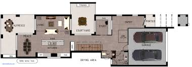 house plans small lot unique baby nursery narrow lot awesome picture narrow home floor