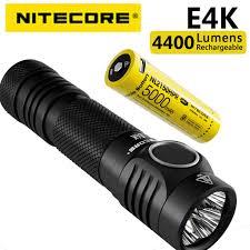 <b>100</b>% <b>Original NITECORE</b> E4K 4400 Lumens 4 x CREE XP-L2 V6 ...
