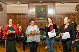 The Recorder - 16 locals aim to share women's stories, spark conversation  through 'Vagina Monologues'