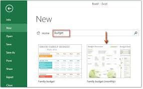 How To Make A Monthly Budget How To Make A Monthly Budget Template In Excel