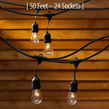 globe string lights amazoncom outdoor commercial string globe lights with hanging drop soc
