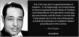 Jazz Quotes Simple TOP 48 QUOTES BY DUKE ELLINGTON Of 48 AZ Quotes