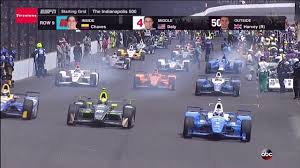 「101st Indy 500 final race start」の画像検索結果
