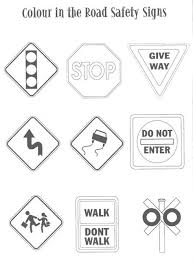 Luxury Safety Signs And Symbols Coloring Pages C Trademe