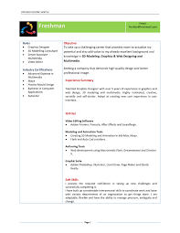 Resume Format For Diploma Freshers It Resume Cover Letter Sample