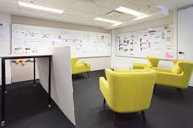 whiteboard for office wall. Chairs, Whiteboards Walls, And A High Desk Encourage Ideation Whiteboard For Office Wall