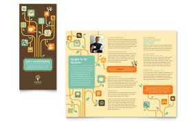 3 Fold Flyer Template Word Microsoft Word 3 Fold Brochure Template 3