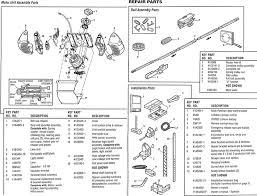 garage door opener partsChamberlain Belt Drive models 248739 Parts