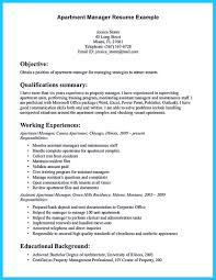 Property Management Resume Skills Resume Samples Management