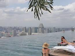 infinity pool mbs. Marina Bay Sands Pool Singapore Infinity Mbs