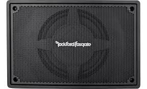 rockford fosgate ps punch series powered subwoofer at rockford fosgate ps 8 front