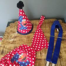 Sesame Street Other Baby Elmo 1st Birthday Set Cake Smash Poshmark