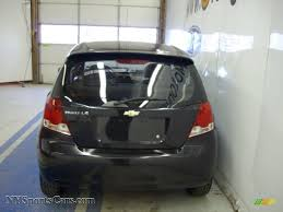 2004 Chevrolet Aveo LS Hatchback in Black photo #3 - 198108 ...
