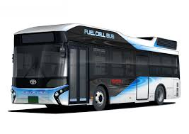 Latest Bus Designs Toyota To Start Sales Of Fuel Cell Buses Under The Toyota
