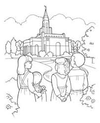 Small Picture A Year of FHE FREE LDS COLORING PAGE for kids to fill in with