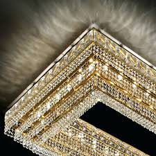 chandeliers rectangular crystal chandelier dining room large gold clear large rectangular chandelier34