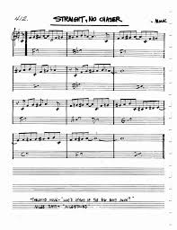 Image Result For Straight No Chaser Sheet Music Pdf In 2019