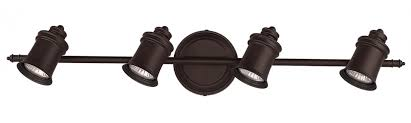 canarm it299a04orb10 taylor 4 bulb wall mount track light oil rubbed bronze