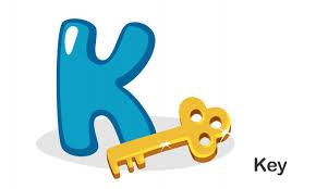 K N Air Filter Size Chart K For Key Vector Premium Download