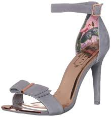 Amazon Com Ted Baker Womens Hanma Heeled Sandal Shoes